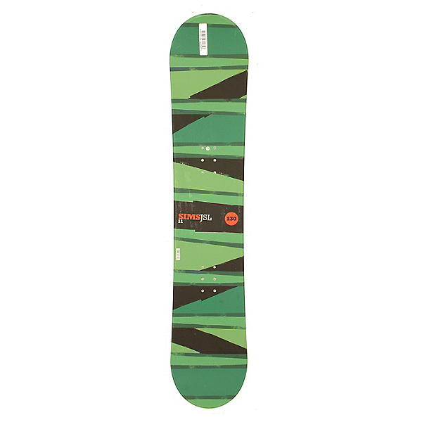 Used Sims JSL 11 Snowboard Deck Only Green 130cm, , 600
