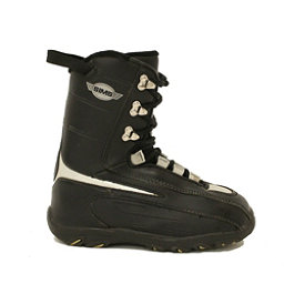 Used Sims Youth Size Snowboard Boots Size Choices SALE, Black-Silver, 256