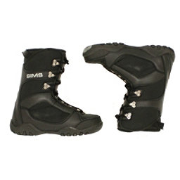 Used Sims Youth Size Snowboard Boots Size Choices SALE, Black, 256