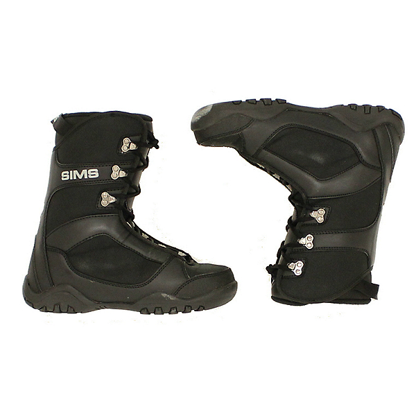 Used Sims Toddler Kids Youth Size Snowboard Boots SALE, Black, 600
