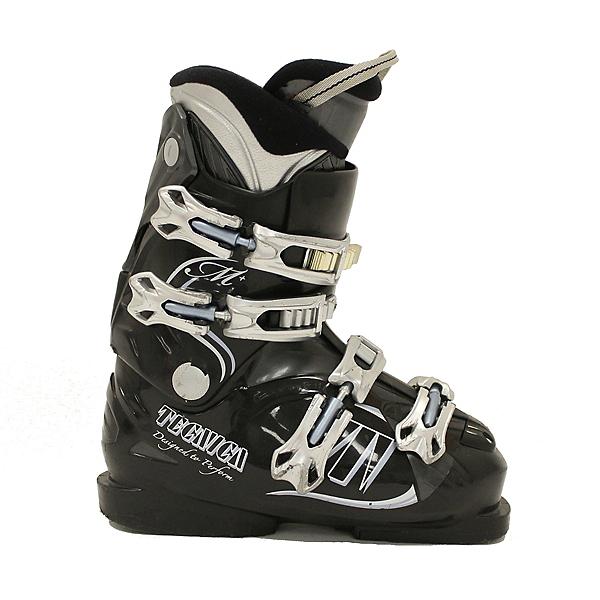 Used Tecnica Attiva Mega + Womens Ski Boots 6.5 - 7.5 SALE, , 600
