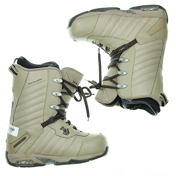 Used Northwave Decade Snowboard Boots, Brown, 600