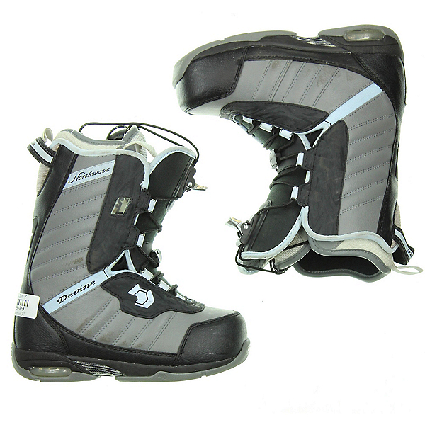 Used Northwave Devine Snowboard Boots, Grey, 600