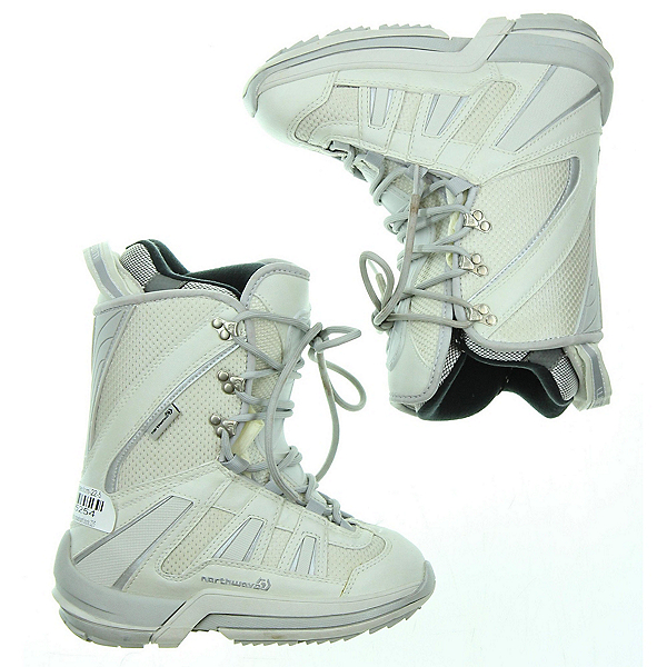 Used Northwave Freedom Womens Snowboard Boots SALE, White, 600