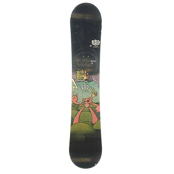 Used Ride Lowride Snowboard, , 600