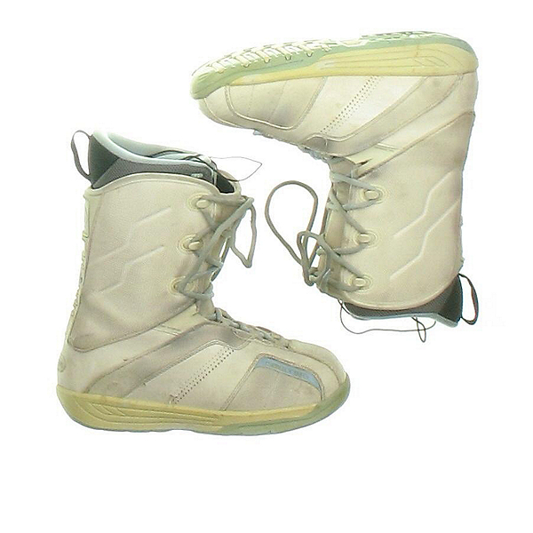Used Ride Orion Womens Snowboard Boots, Off White, 600