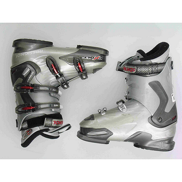 Used Rossignol Exalt Ski Boots, Grey, 600