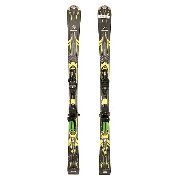 Used 2014 Rossignol Pursuit 16 Mens Skis with Rossignol Axial2 120 Bindings C, , 600