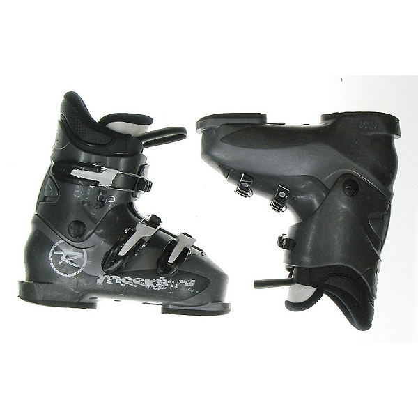 Used Rossignol Comp-J Kids Youth Toddler Ski Boots, , 600