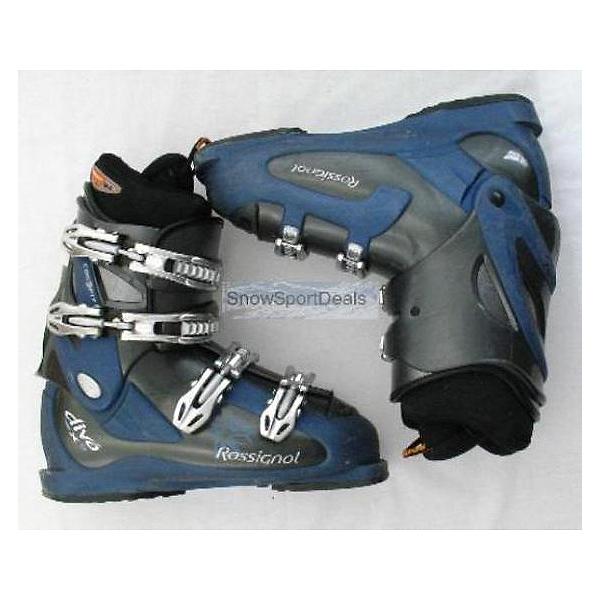 Used Rossignol Diva Womens Ski Boots 7 SALE, , 600