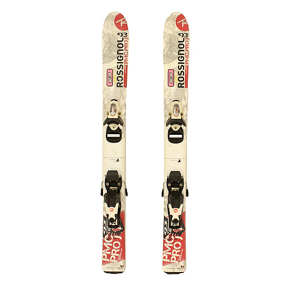Used Rossignol PMC Pro J Kids Skis with Rossi Comp Kid Bindings A SALE, , 600