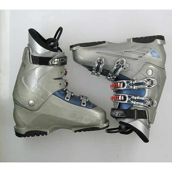 Used Salomon Performa 660 Ski Boots, Ltgy, 600