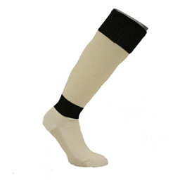 Ridgeview Inc. Transpor OTC Dry Fiber Skiing Ski Socks, Black, 256