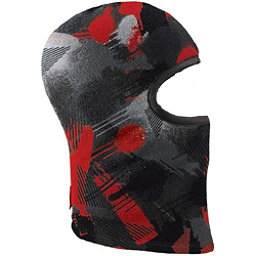 Seirus Polartec Ski Snowboard Winter Balaclava, Red Black, 256
