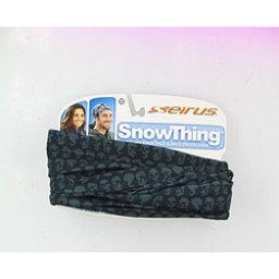 Seirus Snowthing Fleece-Line Ski Snowboard Neck Warmer, Black Skull, 256