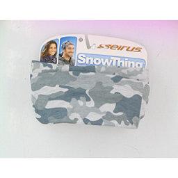 Seirus Snowthing Fleece-Line Ski Snowboard Neck Warmer, Gray White, 256