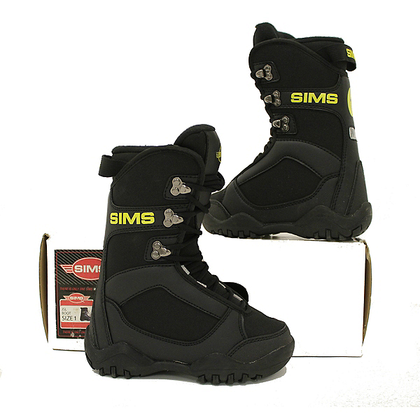 Sims NEW JSL Kids Snowboard Boots In Box, , 600