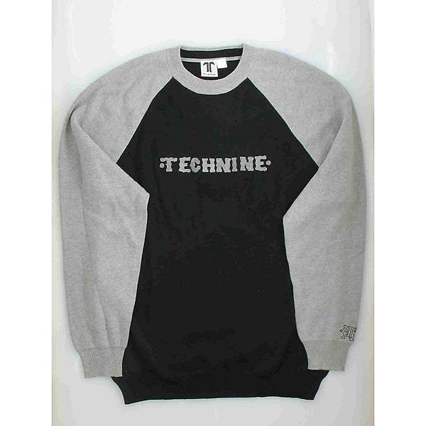 Tech Nine Black & Gray Mens Sweater, , 600
