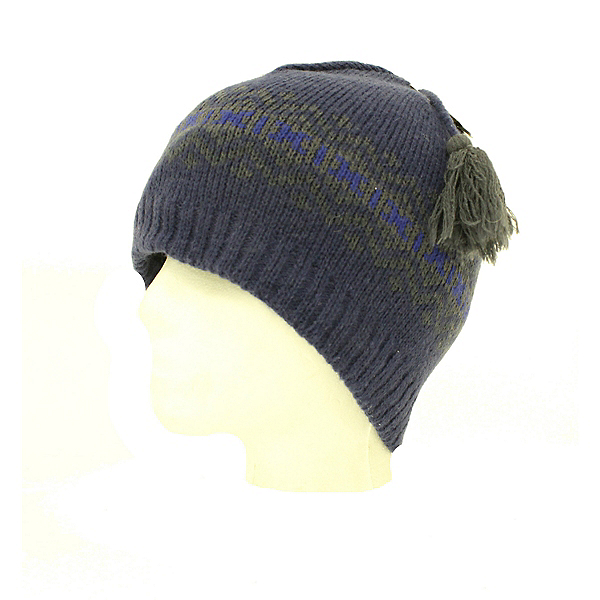 Woolrich New Woolrich Ski Snowboard Beanie Hat with Microfleece Inner Lining Blue Hat, , 600
