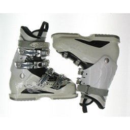Used Womens Salomon Divine 770 Ski Boots Size Choices, White-Black, 256
