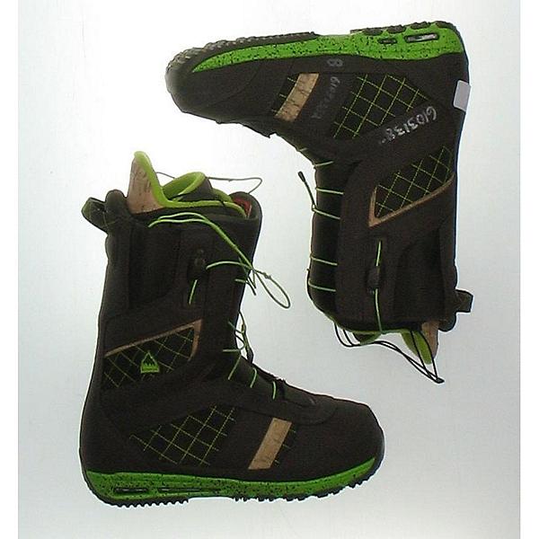 Used Burton Ruler Mens Snowboard Boots SALE, Brown, 600
