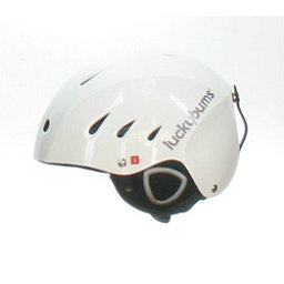Lucky Bums Used Lucky Bums Adult Ski & Snowboard Helmet White Medium Goggle Strap Missing Helmet, , 256