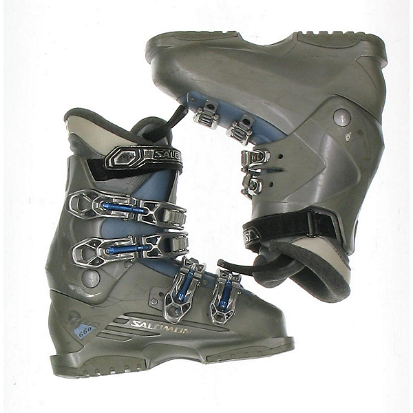 Used Salomon Irony 660 Womens Ski Boots SALE, Ltgy, 600