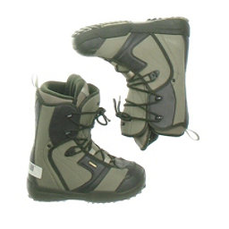 Used Salomon Linea Womens Snowboard Boots SALE, Brown, 256