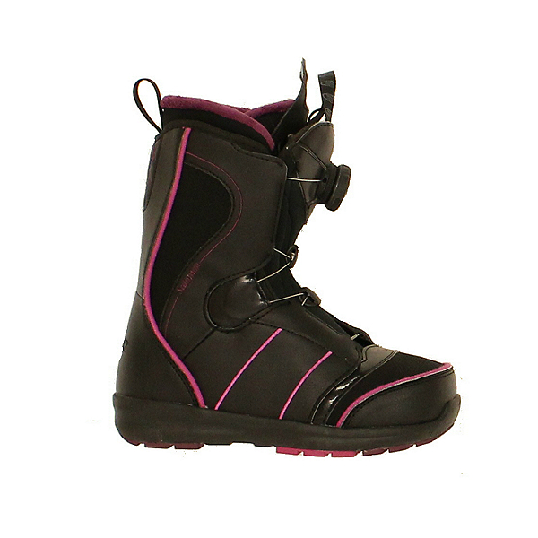 Used 2015 Salomon Pearl BOA Womens Snowboard Boots Fast Dial, , 600