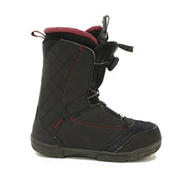 Used 2017 Salomon Pearl BOA Womens Snowboard Boots Fast Dial, , 256