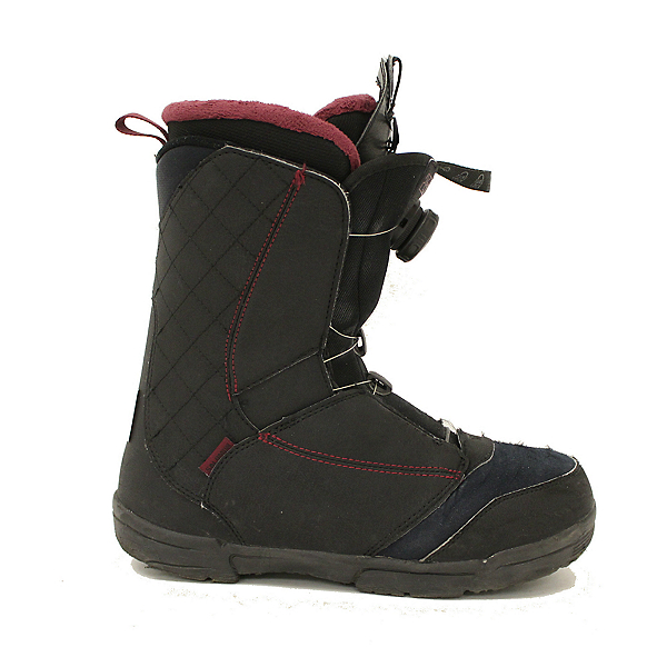 Used 2017 Salomon Pearl BOA Womens Snowboard Boots Fast Dial SALE, , 600