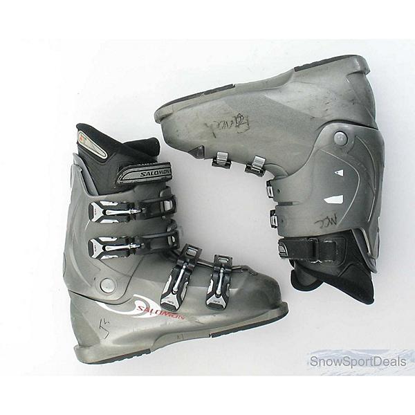 Used Salomon Performa 660 Ski Boots, Grey, 600