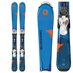 Blizzard Cochise Jr. Kids Skis with IQ 7.0 Bindings 2018, , 256