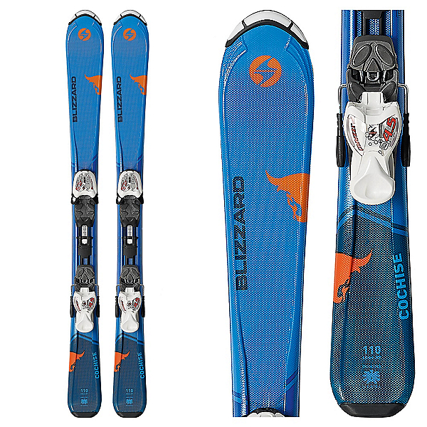Blizzard Cochise Jr. Kids Skis with IQ 7.0 Bindings 2018, , 600