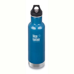 Klean Kanteen Insulated Classic 20oz Water Bottle 2017, Winter Lake, 256