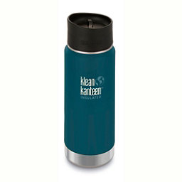 Klean Kanteen Insulated Wide 16oz Water Bottle 2017, Neptune Blue, 256