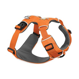 Ruffwear Front Range Harness, Orange Poppy, 256