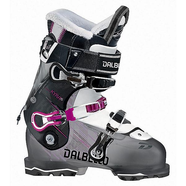 Dalbello Kyra 85 W Womens Ski Boots, Black Transparent-Black, 600