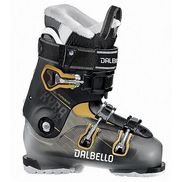 Dalbello Kyra MX 90 W Womens Ski Boots, Black Transparent-Black, 600