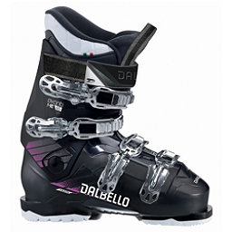 Dalbello Avanti MX 65 W Womens Ski Boots 2018, Black Transparent-Black, 256