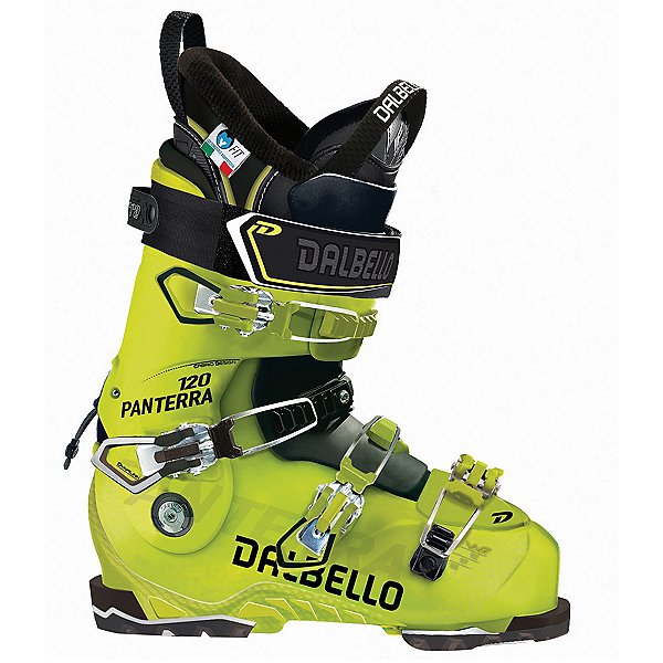 Dalbello Panterra 120 Ski Boots 2018, Acid Yellow-Black, 600