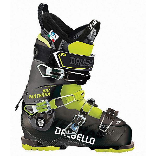 Dalbello Panterra 100 Ski Boots 2018, Black-Acid Yellow, 600