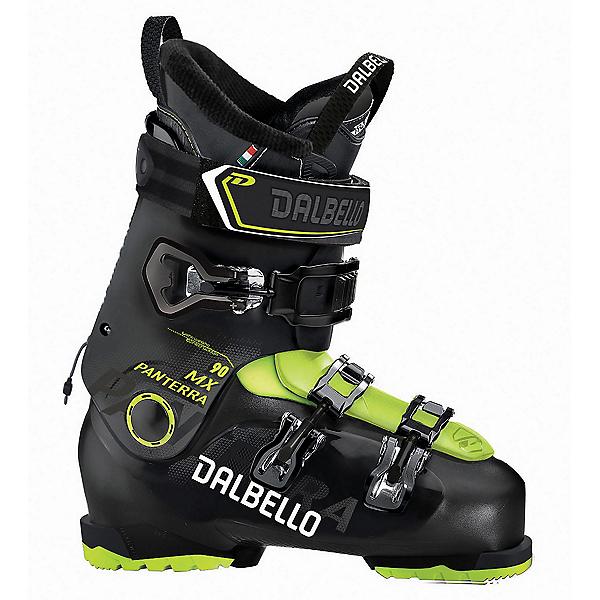Dalbello Panterra MX 90 Ski Boots 2019, Black-Acid Yellow, 600