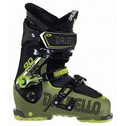Dalbello Il Moro MX 90 Ski Boots 2018, Military Green-Black, 256
