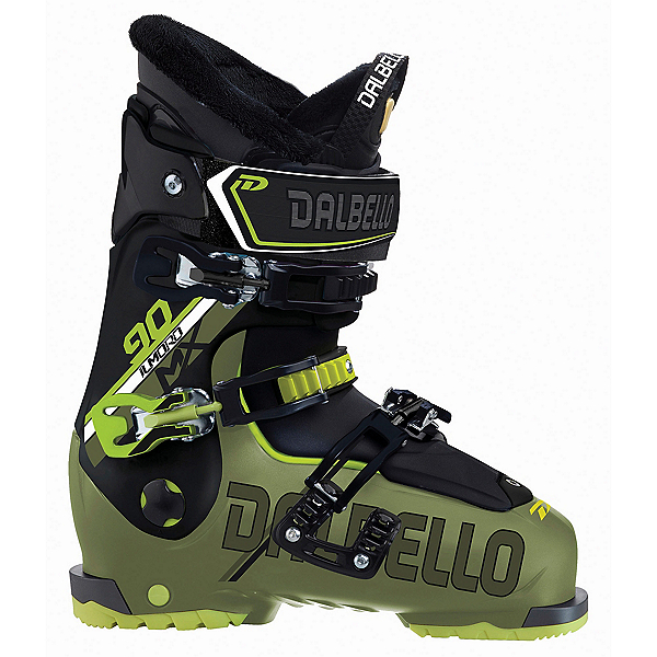 Dalbello Il Moro MX 90 Ski Boots 2018, Military Green-Black, 600