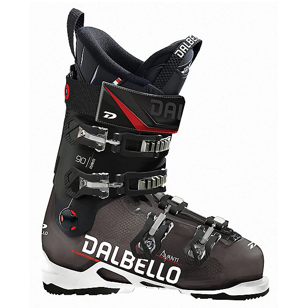Dalbello Avanti 90 Ski Boots 2018, Black Transparent-Black, 600
