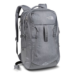 The North Face Router Backpack, TNF Medium Grey Heather-Zinc Grey, 256