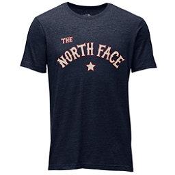 The North Face Americana Tri-Blend Slim T-Shirt, Urban Navy Heather, 256
