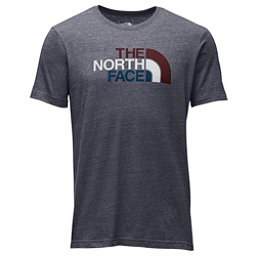 The North Face Americana Tri-Blend Slim T-Shirt, TNF Medium Grey Heather-Barolo, 256