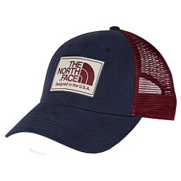 The North Face Americana Trucker Mens Hat, Urban Navy-Barolo Red, 256